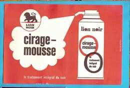 Buvard /Blotter  ::Cirage Mousse Traitement Integral Du Cuir - Shoes