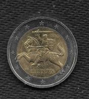 LITUANIE (LIETUVA) 2015 /  2 Euro De Circulation Très Peu Circulé / Brillant D'origine // Peu Courante - Lituania