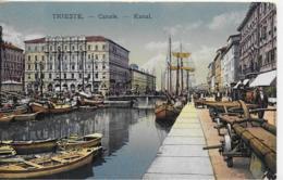 AK 0065  Trieste - Canale / Verlag Schmelzer Um 1916 - Trieste