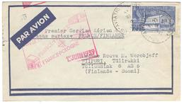 9194 - FRANCE FINLANDE - Poste Aérienne