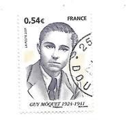 Personnalité Guy Môquet 4107 Oblitéré 2007 - France
