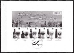 GCA17  Les Bières Trappistes Belges - MNH** - LOOK!!!! - Foglietti Bianchi & Neri
