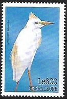 Sierra Leone 1999 - MNH - Western Cattle Egret (Bubulcus Ibis - Other