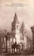 Saulieu. Basilique Et Place Saint-Andoche En 1580. - Saulieu