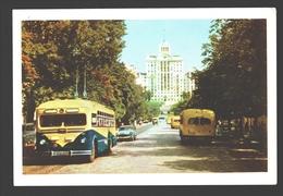 Kiev / Киев - Lenin Street - Vintage Bus - Ukraine