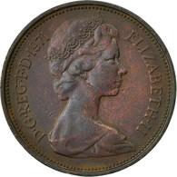 Monnaie, Grande-Bretagne, Elizabeth II, 2 New Pence, 1971, TB+, Bronze, KM:916 - 1971-… : Monnaies Décimales