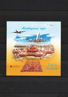 AZERBAIJAN 2012. Europe 2012-Visit To Azerbaican- INPERFORATE Blok - Azerbaïjan