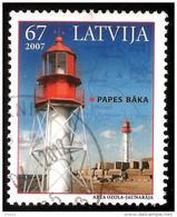 "Latvia , Lettland , Lettonia - 2007 Sea Lighthouse  Beacon, Pharos, Seamark ""Papes""  Used (0) - Lettonie"