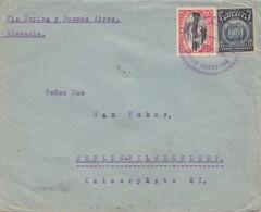 Bolivia/Bolivien: 1921 Cover Cochabamba Via Buenos Aires To Berlin - Bolivia