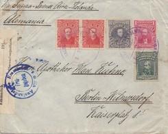 Bolivia/Bolivien: 1915 Cover Cochabamba Via Buenos Aires To Berlin, Censor - Bolivia