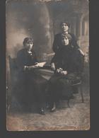 Familieportret / Portrait De Famille - Original Photo Card / Originele Fotokaart - Photographe Duhameeuw Oostende - Fotografie