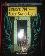 TINTIN - Sydney'e 714 Sefer Sayılı Ucus- TURKISH EDITION - Books, Magazines, Comics