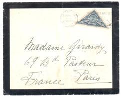 SAN JOSE Costa Rica Dead Letter To France Paris Cancel 1938 29 May 20c Centimos Exposition Filatelica - Costa Rica