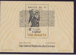 BRESIL 1973 BLOC SAINT GABRIEL YVERT  N°B31 NEUF MNH** - Brésil