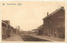 Viane-Moerbeke - La Gare - De Statie. - Geraardsbergen
