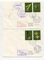 Peru / 1973 / 2 Erstflugbriefe Lima-Quito (25395) - Peru