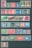 BELGIQUE - 1953 - MNH/***- LUXE - YEAR COMPLETE - COB 908-937 - Lot 18000 - QUOTE 325 EUR - Belgien