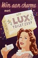 @@@ MAGNET - Win Aan Charme Met Lux Toilet Zeep - Publicitaires