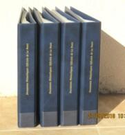 FRANCE - 4 Classeurs Documents Philatéliques Officiels La Poste + 200 Pochettes 21x29,7 - Très Bon état. - Albums & Reliures