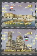 MK 2018-08 MK IN EU, MACEDONIA, 1 X 2v, MNH - Mazedonien