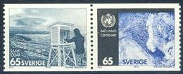 +D2973. Sweden 1973. Meteorology : WMO. Pair. Michel 806-07. MNH(**) - Suecia