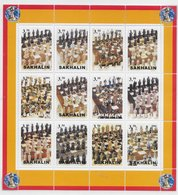 Sachalin Sakhalin 2001; Chess  S/s Of 9 - Stamps