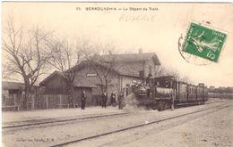 Berrouaghia Le Départ Du Train - Other Cities