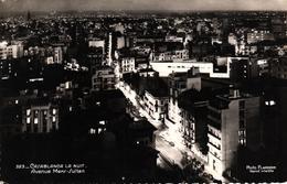 MAROC - CASABLANCA LA NUIT - AVENUE MERS SULTAN - Casablanca