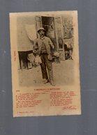 104   Cartolina Di  NAPOLI Costume Napoletano 'O MASTRILLO (trappola Per Topi) E 'A RATTA-CASO (Grattuggia) - Napoli