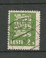 Estland Estonia 1928 Michel 75 O Tallinn IV - Estland