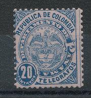 Panama - Département De La Colombie Timbre-télégraphe N°3* - Panama
