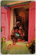 10BCVB Woman On Phone $5 - Virgin Islands