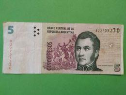 5 Pesos - Argentina