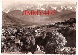 CPM Dentelées - Vue Générale Aérienne Et Chaine Du Mont Blanc En 1962 - SALLANCHES 74 Haute Savoie - N° 15 - Ed. COMBIER - Sallanches