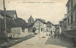 JOUY LE CHATEL - Rue De La Gare. - Autres Communes