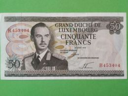 50 Francs 1972 - Luxembourg
