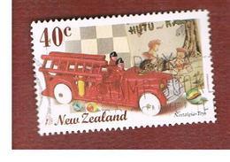 NUOVA ZELANDA (NEW ZEALAND) - SG 2239  -  1999  NOSTALGIA: TOYS (FIRE ENGINE AND MARPLES)  -  USED° - New Zealand