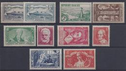France Année Complète 1935 ( N° 299 à 308 ** ) TB - ....-1939