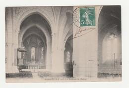 Fondettes.37.Indre Et Loire.Intérieur De L'Eglise.1908 - Fondettes