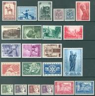 BELGIQUE - 1954 - MLH/* - YEAR COMPLETE - COB 938-960 - Lot 18001 - QUOTE 210.00 EUR - Belgien