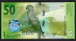 SEYCHELLES : 50  RUPEES - 2016 - UNC - Seychelles