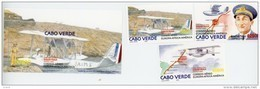 Cap Vert-Cabo Verde-2003-Hydravions-808/10+B34***MNH - Cap Vert