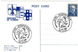 """LILLE - Foire Internationale 24/5/1980 - """" INDUSTRIES ELECTRIQUES ET ELECTRONIQUES"""" - Marcophilie (Lettres)"""