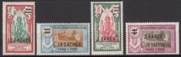 Du N° 81 Au N° 84 - X - ( C 1489 ) - India (1892-1954)