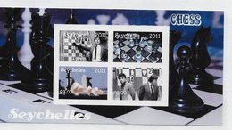 Seychellen 2011; Chess Echecs;  S/s - Seychelles (1976-...)