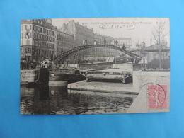 PARIS . Canal Saint-Martin - Pont Tournant - Arrondissement: 10