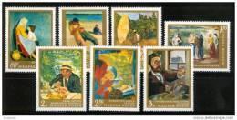 M612- Set MNH Hunagry -1967-  SC. 1863-1869-Paintings - Non Classificati