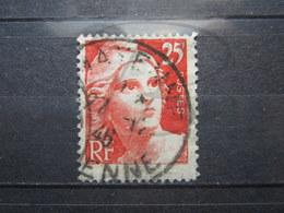 "VEND BEAU TIMBRE DE FRANCE N° 729 , CACHET "" MAYENNE "" !!! (a) - 1945-54 Marianne Of Gandon"