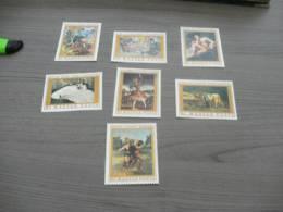 M631-  Set MNH Hungary -1969- SC. 1975-1981-  French Paintings - Non Classificati