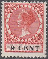 NETHERLANDS       SCOTT NO.  176       MINT HINGED      YEAR  1926     WMK--202 - Period 1891-1948 (Wilhelmina)